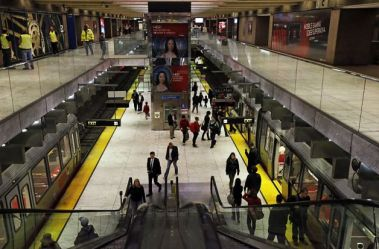 Embarcadero Station: where I exited the BART train at 5:30 AM every day for five years
