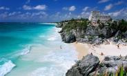 Tulum, Mexico, south of Cancun. Beautiful but not enough to keep us busy as expats