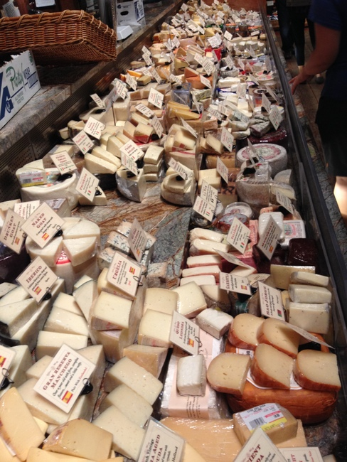 a million cheeses to choose from