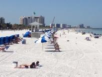 Clearwarter Beach, Florida. Beautiful and clean.