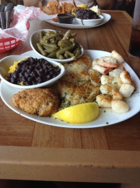 All the saefood in Clearwater Beach is incredible and inexpensive by US standards