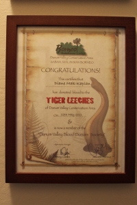 leech certificate