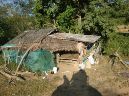 The mahout's living quarters
