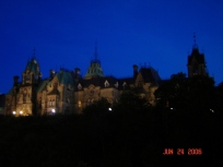another evening view of Parliament Hill