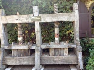 an ancient wine press