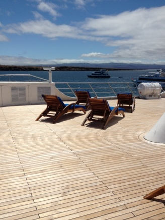 main deck of the Ocean Spray
