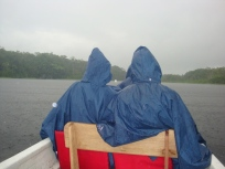 us in our ponchos