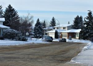 My in-laws street in Edmonton