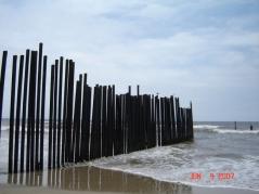 The flimsy border wall