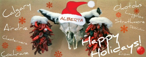 Alberta Happy Holidays!