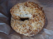 what a real bagel looks like