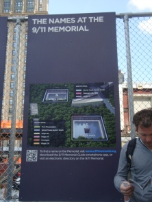 The 9/11 Memorial before the museum opened in 2013