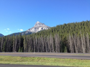 Passing through the Rockies