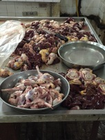 All kinds of chicken