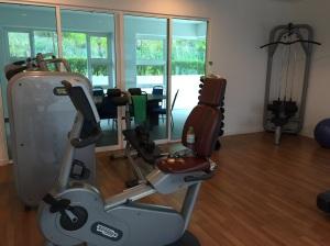 Our closet sized gym