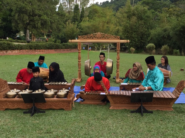 free cultural music in the Penang Botanical Gardens
