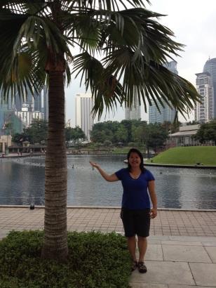 Diane says hi Malaysia