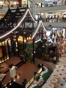 Mall center