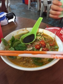 Laksa at Air Itam