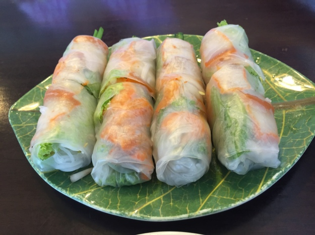 Poor excuse for Vietnamese spring rolls