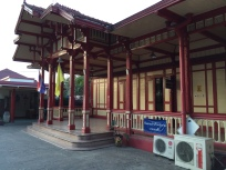 The stately train station at Hua Hin