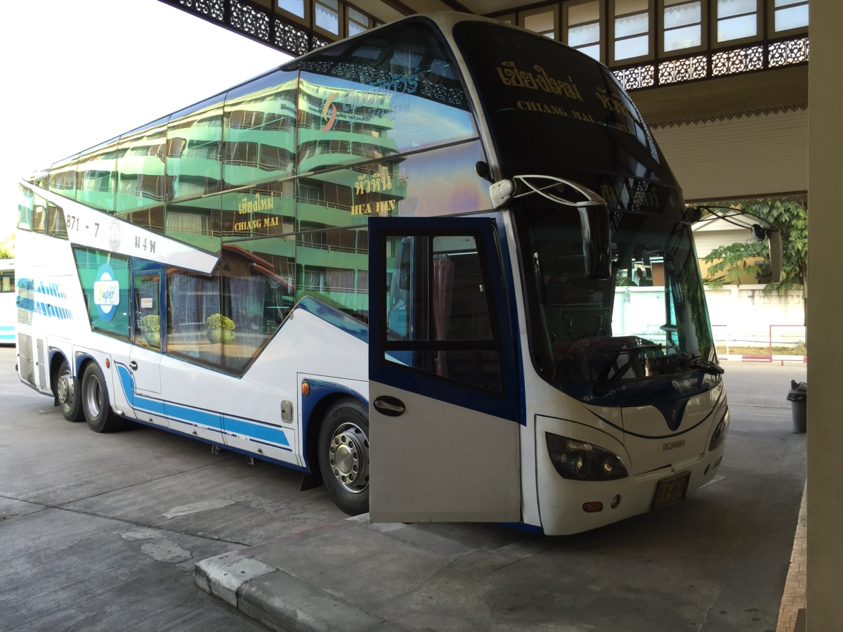 "Slow and Long: The ""Express"" bus to Chiang Mai"