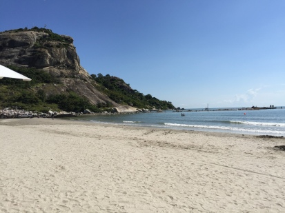 The beach at Anantasila