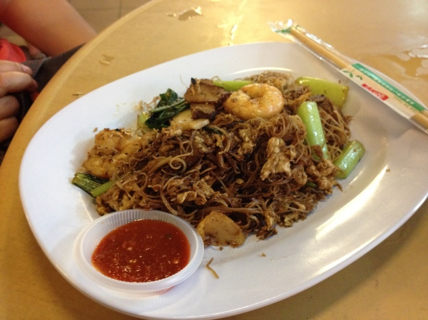 Char Kway Teow - Penang's most famous dish