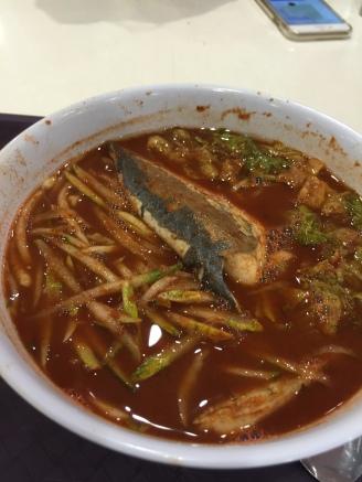 Asam Laksa - Penang's specialty