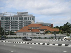 The US Embassy in KL