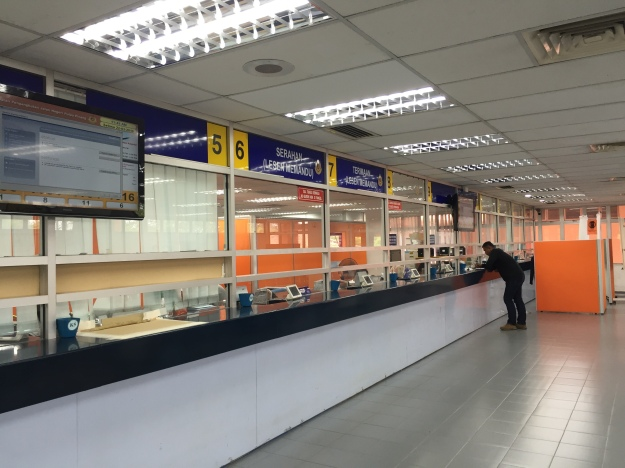 the surprisingly empty JPJ office