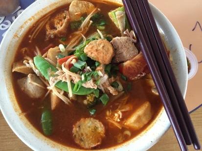 "Yong Tau Foo- ""make your own"" with Tom Yam soup base"