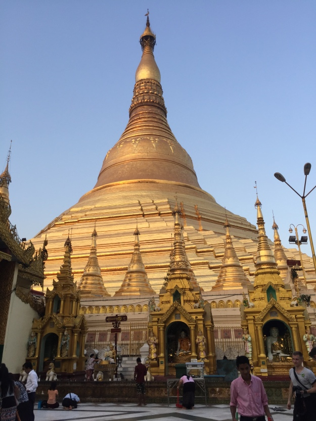 The Shwedagon Pagoda Site