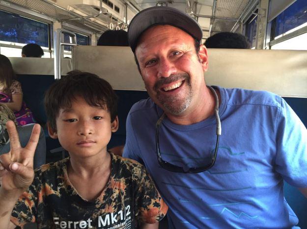Children become new best friends quickly in Myanmar
