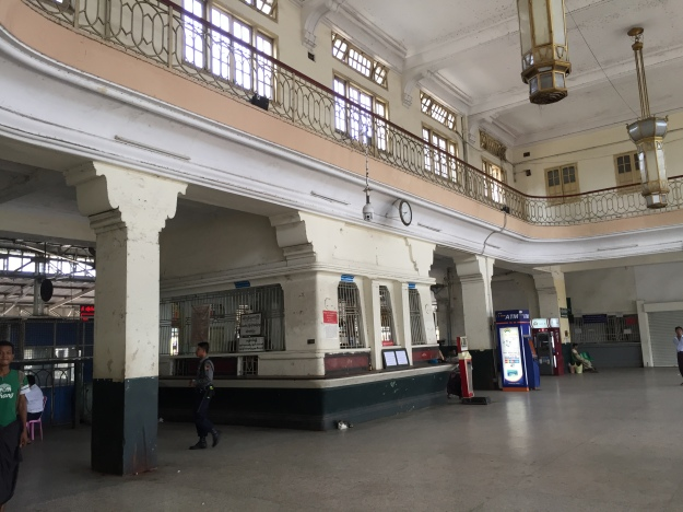 Central Railway Station in Yangon