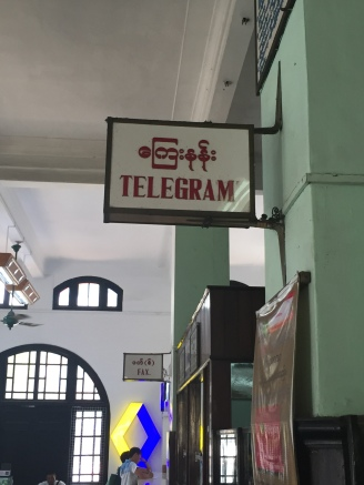 "What the hell is a ""telegram""?"