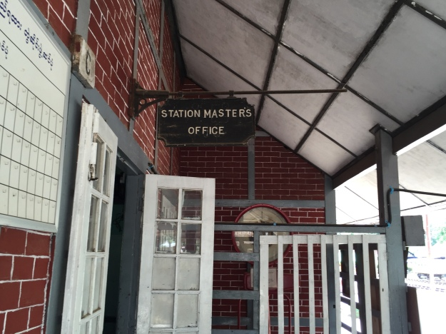 The station master's office