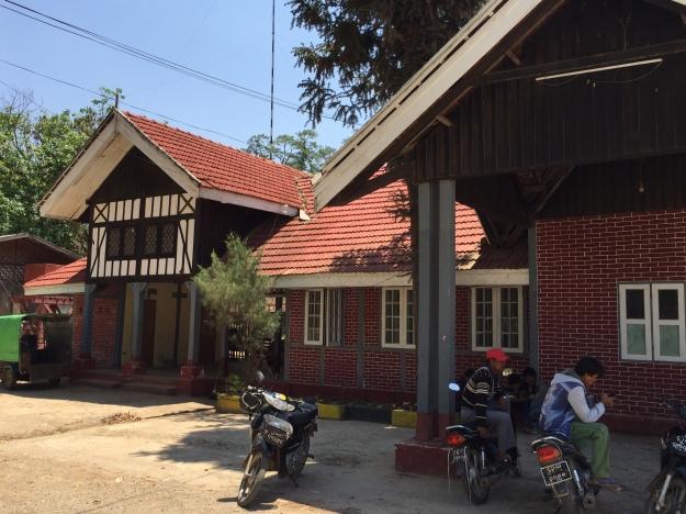 Kalaw's railway station
