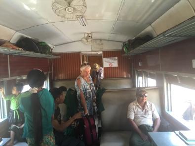 inside train # 143