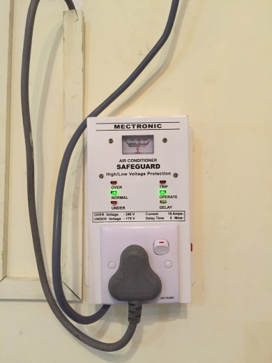 Strange device that somehow shuts the power when the power grid is over loaded