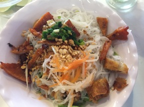 Very average vermicelli with pork