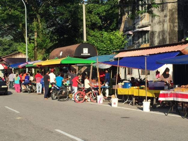The Taluk Bahang Ramadan night bazaar