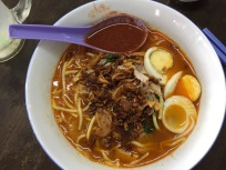 Hokkien Mee (prawn soup)