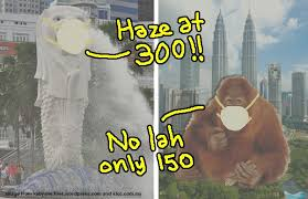 Singapore and central Malaysia already have the haze again