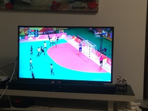 Olympic Handball coverage; never seen on NBC
