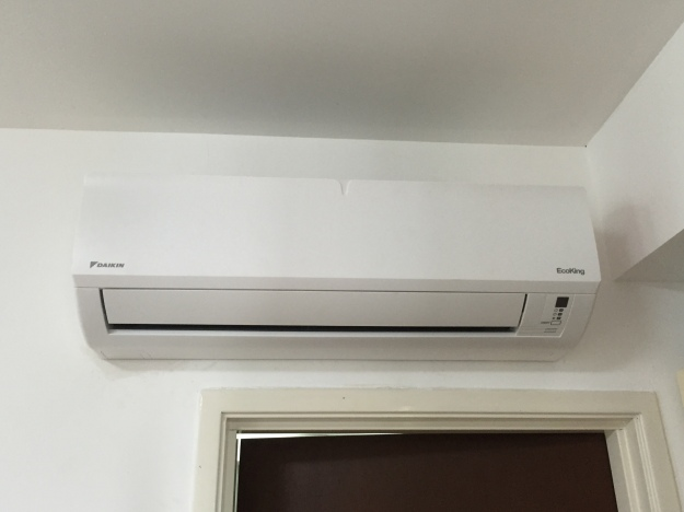 Our new air conditioner