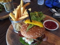 The Hillside beef burger
