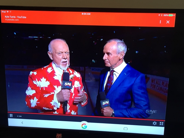 Don Cherry; the ultimate Canadian icon