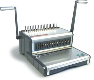 an old binder comb apparatus; still used here