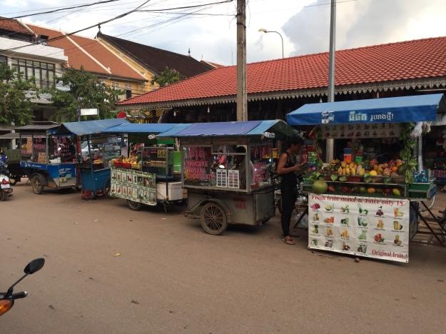 near Pub Street in Siem Reap